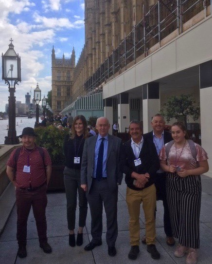CWVYS 'STORIES FROM YOUTH WORK IN WALES' GOES TO WESTMINSTER!